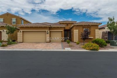 Las Vegas Single Family Home For Sale: 8840 Majestic Prince Court