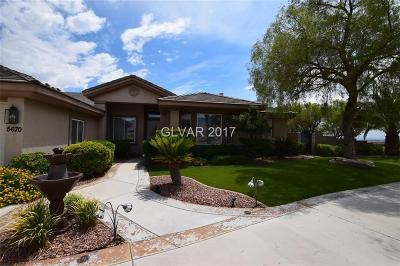 Las Vegas Single Family Home For Sale: 5670 Ruffian Road