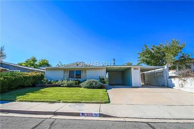 Boulder City Single Family Home For Sale: 659 Eighth Street