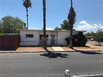 Las Vegas Single Family Home Contingent Offer: 4831 Vermont Avenue