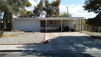 Las Vegas Single Family Home Contingent Offer: 5055 Blanton Drive