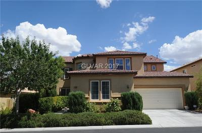 Las Vegas Single Family Home For Sale: 7818 Sagebrush Bend Street