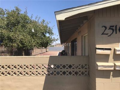 North Las Vegas Multi Family Home Contingent Offer: 2510 Ellis Street