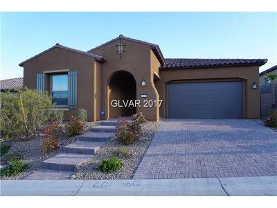 Las Vegas Single Family Home For Sale: 11827 Spadari Court