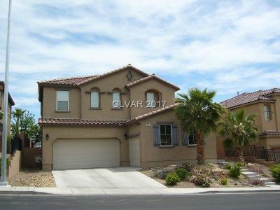 North Las Vegas Single Family Home For Sale: 6220 Villa Emo Street