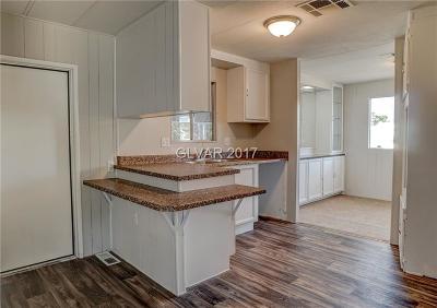 Las Vegas Manufactured Home For Sale: 5087 Sitka Lane
