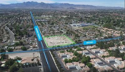 Las Vegas Residential Lots & Land For Sale: 2400 North Michael Way