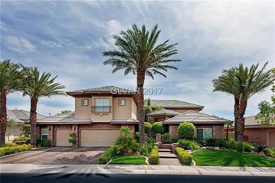 Las Vegas Single Family Home For Sale: 604 Verde Vista Place