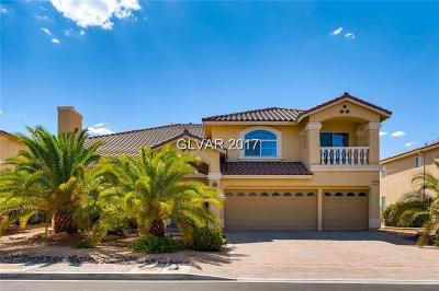 Las Vegas Single Family Home For Sale: 11117 Scotscraig Court