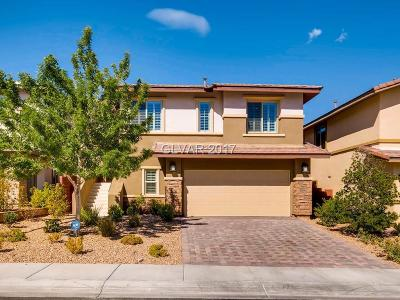 Las Vegas Single Family Home Contingent Offer: 5602 Trilling Bird Drive