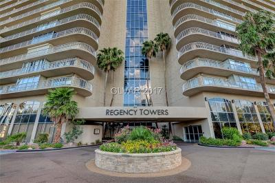 Las Vegas High Rise For Sale: 3111 Bel Air Drive #24F