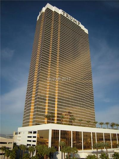 Trump Intl Hotel & Tower-, Trump Intl Hotel & Tower- Las High Rise For Sale: 2000 Fashion Show Drive #4512