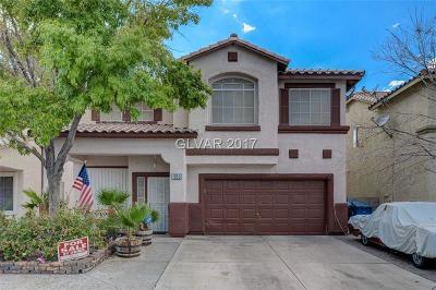 Las Vegas Single Family Home For Sale: 1055 Colgate Lane