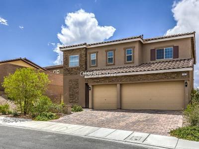 Henderson Single Family Home For Sale: 161 Dunblane Street