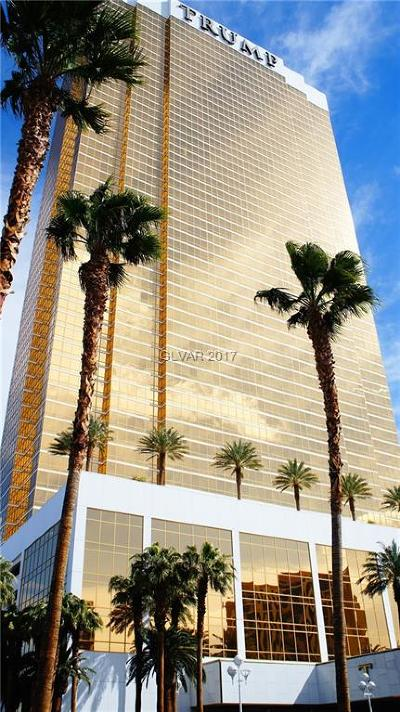 Trump Intl Hotel & Tower-, Trump Intl Hotel & Tower- Las High Rise For Sale: 2000 Fashion Show Drive #5616