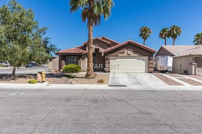 North Las Vegas Single Family Home Contingent Offer: 408 Casa Del Norte Drive