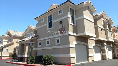North Las Vegas Condo/Townhouse For Sale: 5855 Valley Drive #2070
