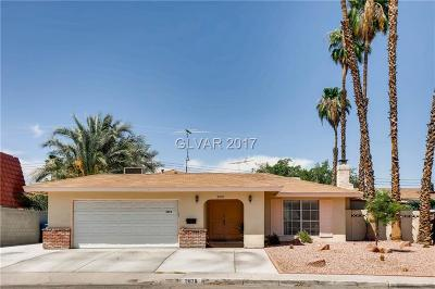 Las Vegas Single Family Home For Sale: 2878 Capistrano Avenue