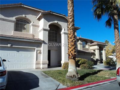 Las Vegas Single Family Home For Sale: 8105 Sienna Hollow Court