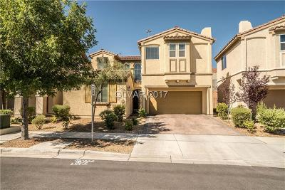 Las Vegas Single Family Home For Sale: 7459 Crooked Branch Street