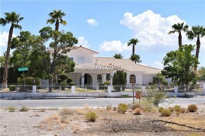 Las Vegas Single Family Home For Sale: 5720 El Camino