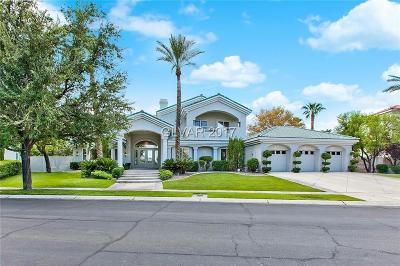 Henderson, Blue Diamond, Boulder City, Las Vegas, North Las Vegas, Pahrump Single Family Home For Sale: 2025 Troon Drive