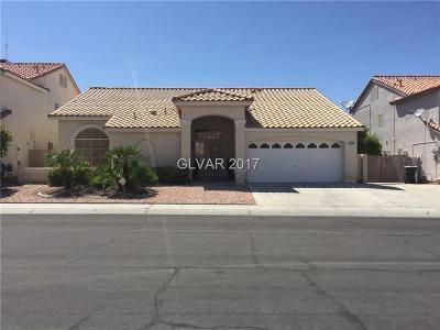 Las Vegas  Single Family Home For Sale: 3809 Larkcrest Street