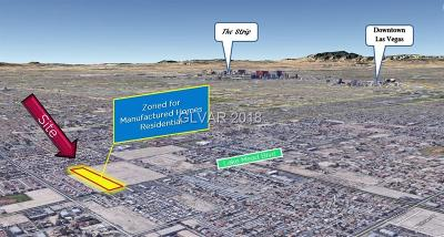 Las Vegas Residential Lots & Land For Sale: 4615 Lake Mead Boulevard