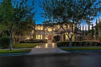 Summerlin Village Single Family Home For Sale: 409 Canyon Greens Drive