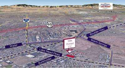 Henderson Residential Lots & Land For Sale: Lake Mead Parkway