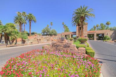 Las Vegas Single Family Home For Sale: 2116 Lookout Point Circle