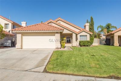 Henderson NV Single Family Home For Sale: $349,999