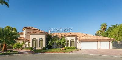 Las Vegas Single Family Home For Sale: 7630 Coley Avenue