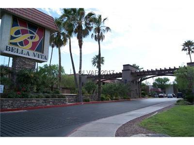 Las Vegas Condo/Townhouse For Sale: 5170 River Glen Drive #248