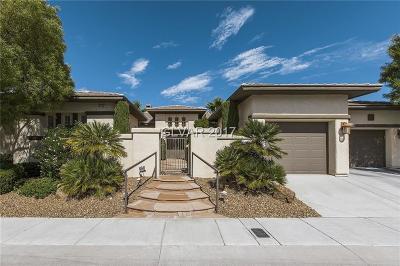 Las Vegas Single Family Home For Sale: 4162 Agosta Luna Place