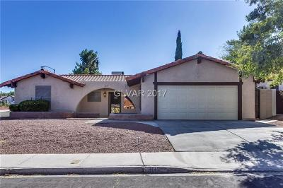 Henderson Single Family Home For Sale: 3136 La Mesa Drive