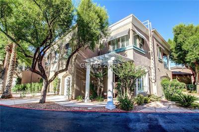 Las Vegas Condo/Townhouse For Sale: 9420 San Laguna Court #101