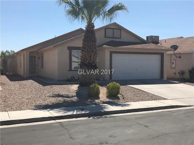 North Las Vegas Single Family Home For Sale: 5334 Jose Ernesto Street