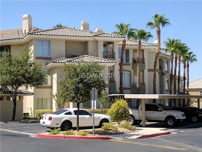 Las Vegas Condo/Townhouse For Sale: 7123 South Durango Drive #207