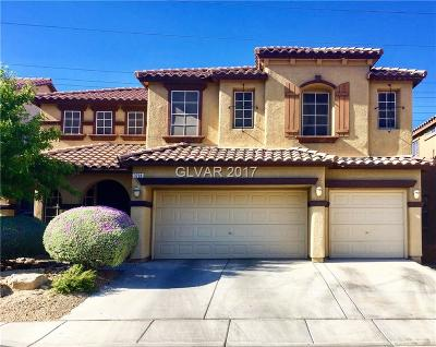 North Las Vegas Single Family Home For Sale: 3208 Villa Pisani Court