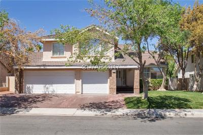Las Vegas Single Family Home For Sale: 9732 Stellar View Avenue