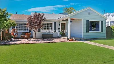 Boulder City Single Family Home For Sale: 632 H Avenue