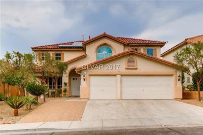 Henderson Single Family Home For Sale: 2738 Carolina Blue Avenue