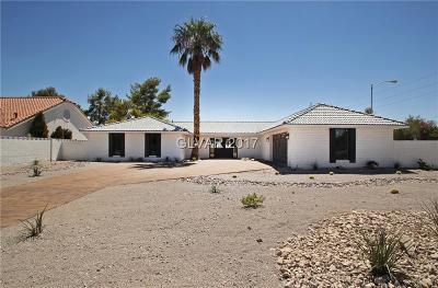 Las Vegas Single Family Home For Sale: 4233 East Hacienda Avenue