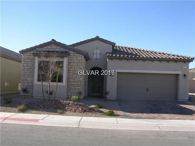 Las Vegas Single Family Home For Sale: 859 Gallery Course Drive