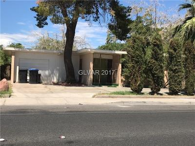 North Las Vegas Single Family Home For Sale: 2818 Owens Avenue