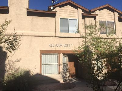 North Las Vegas Condo/Townhouse For Sale: 3846 Terrazzo Avenue
