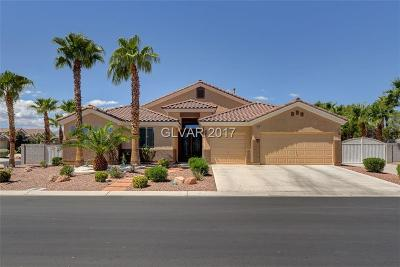 Las Vegas Single Family Home For Sale: 6705 Pyracantha Glen Court
