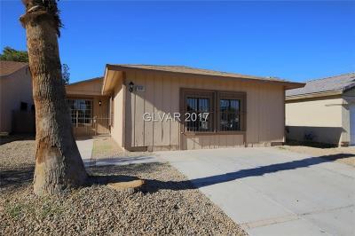 Las Vegas NV Single Family Home For Sale: $189,900