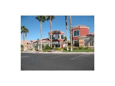 Las Vegas Condo/Townhouse For Sale: 4730 Craig Road #1166